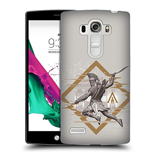 Price comparison product image Official Assassin's Creed Alexios Map Odyssey Artwork Hard Back Case for LG G4 Beat / G4s / G4 s / H735