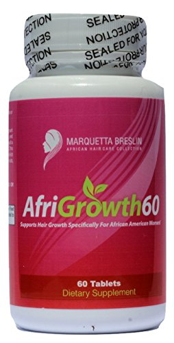 Search : AfriGrowth60 Black Hair Growth Vitamins For African American Hair - Extra Strength Biotin and MSM