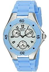 Invicta Women's Spec. Ed. Couture Multi-Function Light Blue Silicone Watch