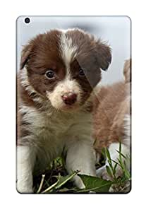 High Quality Shock Absorbing Case For Ipad Mini/mini 2-border Collie Puppies