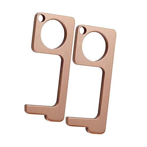 Door Opener Tool, Non-Contact Door Opener and Enclosed Stylus, EDC Door Opener to Avoid Using Direct Touch Tools to Keep Hands Clean in Public