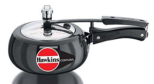 Hawkins Contura Hard Anodised Pressure Cooker, 2.0 Litre