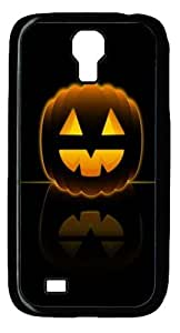Cool Painting Samsung Galaxy I9500 Cases & Covers -Halloween Pumpkin Polycarbonate Hard Case Back Cover for Samsung Galaxy S4/I9500
