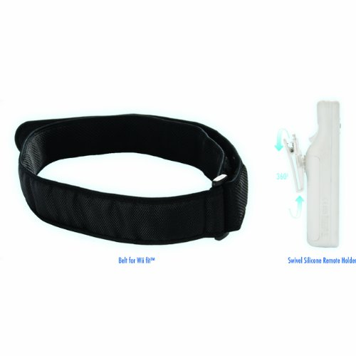 Wii Fit Belt, Swivel Case & Belt Clip Combo