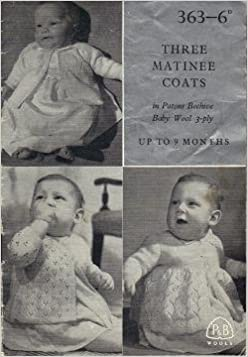 771ffa30c Three Matinee Coats for Babies aged 0-9 Months