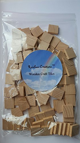 blank wooden scrabble tiles spacers smooth excellent quality wood