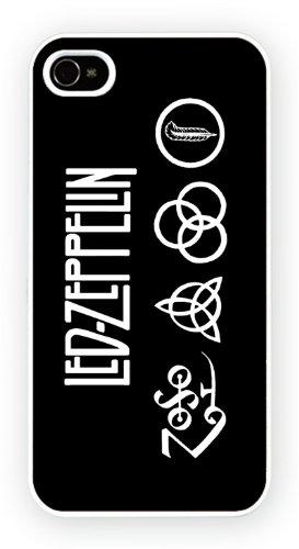 Led Zepplin Four Symbols Horizontal, iPhone 6, Etui de téléphone mobile - encre brillant impression