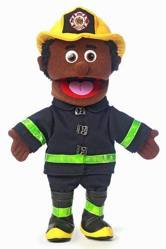 Fireman Hand Puppet - 14