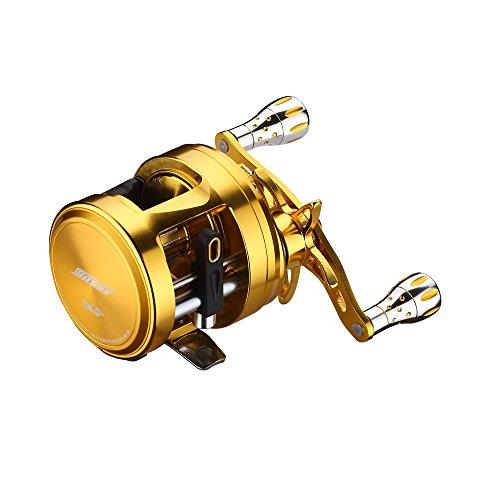 FyshFlyer® Sea Hawk™Premium Baitcasting Reel; 11+1 BB; Alloy Body/Handle/Knob; Left/Right Hand Available