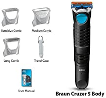 Braun cruZer 6 Body + Frends Earphones - afeitadoras corporales ...