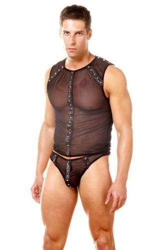 Gay black leather men