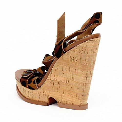 cuña 3 de las de nbsp;para mujeres 5 moda tamaño Unido Sam Edelman tacón Reino Sandalias xXqCnEw1v