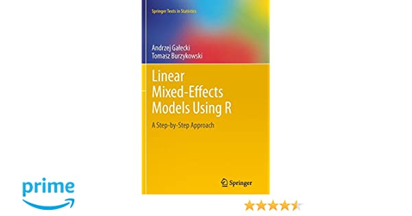 Amazon com: Linear Mixed-Effects Models Using R: A Step-by