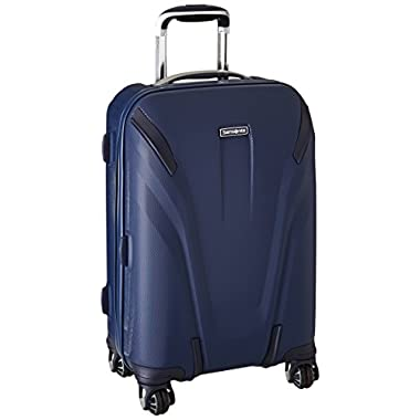 Samsonite Silhouette Sphere 2 Hardside Spinner 22, Twilight Blue, One Size