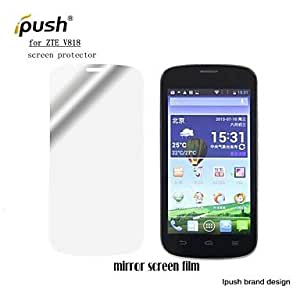 High Transparency Mirror LCD Screen Protector for ZTE V818