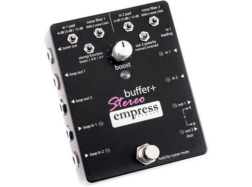 Empress Effects Buffer+ Stereo Guitar Effects Pedal by Empress Effects