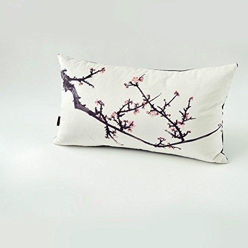 HOMEE Art Pillow Sofa Cushion Continental Creative Arts Pillow Pillow ,46X46Cm Furniture,A),46X26Cm