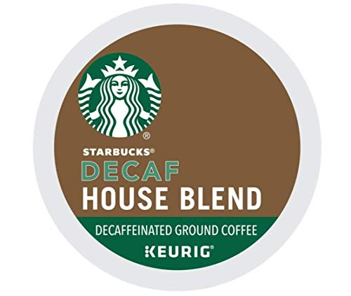 Starbucks Decaf House Blend K-Cups House Blend 10 CT (Pack of 12)