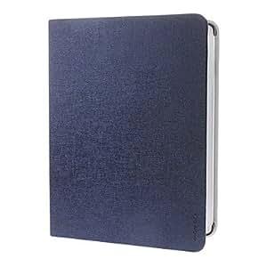 Wohai Gadget Mall - MOMLCA color sólido de la alta calidad de cuero de la PU del caso del cuerpo completo para iPad 2/3/4 (varios colores) , Blanco