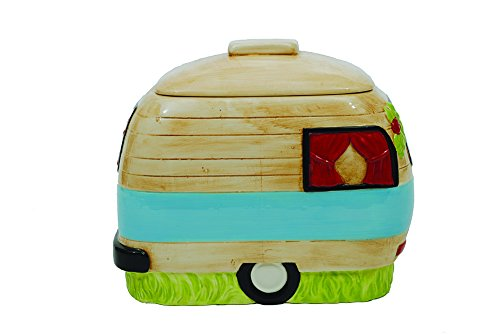 Creative Ceramic Camper Cookie Multicolor