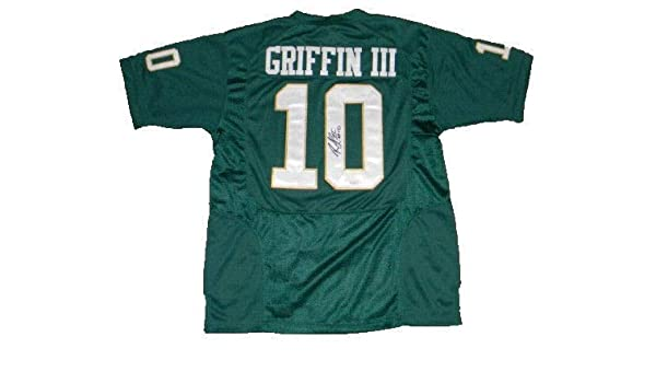 sale retailer 3711c 134db Robert Griffin Iii Rg3 Autographed Signed Baylor Bears #10 ...