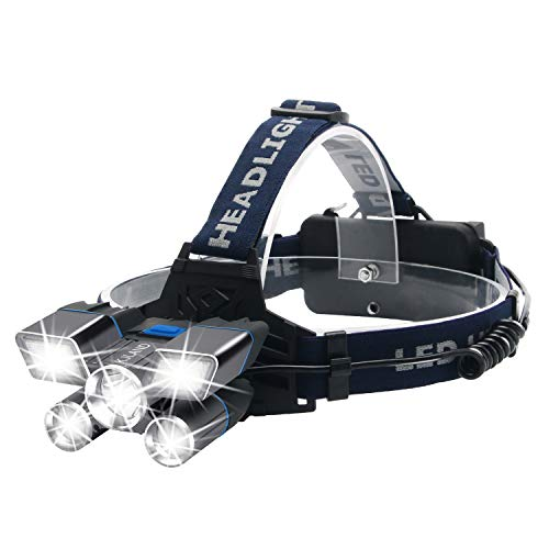 Rechargeable Brightest HeadLight Waterproof Flashlight product image