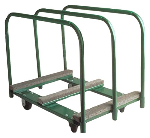 The Fairbanks Company PM-2838-6RT - Panel Mover, 9-3/4'' Deck Size, 36.25'' High, Rubber Mold-on Wheels, 2000 lb. Load Capacity, 38'' Length, 36.25'' Height, 28'' Width