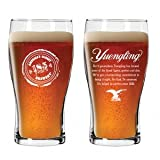 Yuengling Brewery 185th Anniversary Beer Pub Style Glass