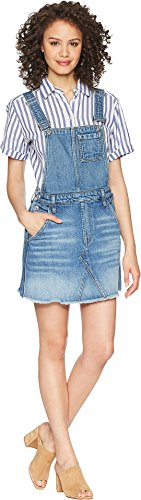 7 For All Mankind Women's Mini Skirt Overall in Desert Oasis 5 Desert Oasis 5 X-Small by 7 For All Mankind