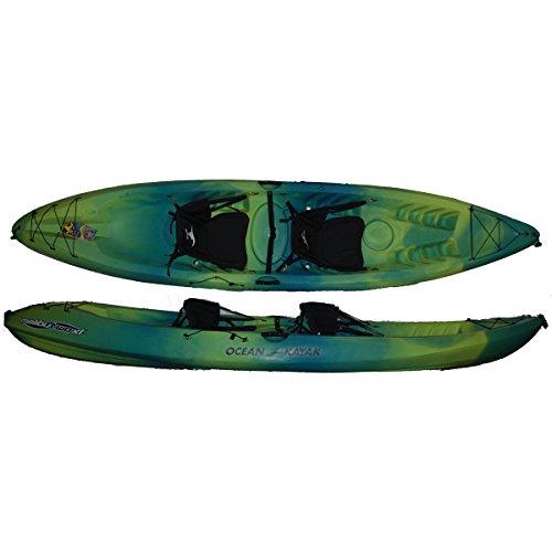 Ocean Kayaks Malibu Two XL Tandem Kayak - Limited Edition Sea Grass (Tandem Sea Kayaks)