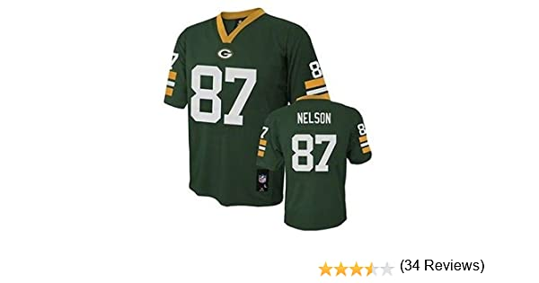 ... Amazon.com Jordy Nelson Green Bay Packers NFL Youth Green Home Mid-tier Jersey  Nike ... f8de8d92c