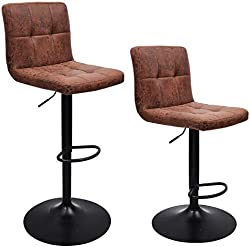 related image of WAYTRIM Adjustable Bar Stools (Set of 2