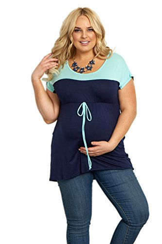 Tie Front Maternity Shirt - 5