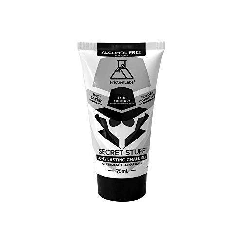 Friction Labs Secret Stuff Liquid Chalk - Original, Alcohol Free and New Sanitizing Hygienic Formulas - Trusted by 100+ Pro Athletes in Weight Lifting, Rock Climbing, Gymnastics & More