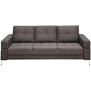Amazon.com: Benzara BM167230 Polyfiber Adjustable Sofa with ...