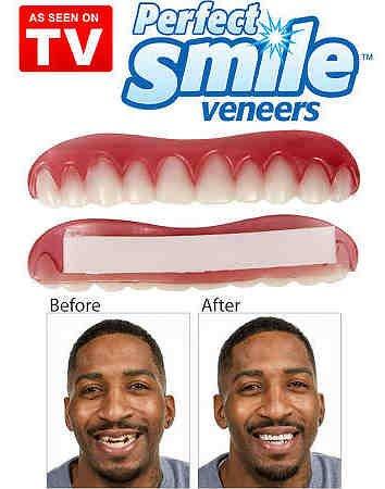 Perfect Smile - La increíble e instantánea FUNDA DE CARILLAS reutilizable y extraíble que te proporciona