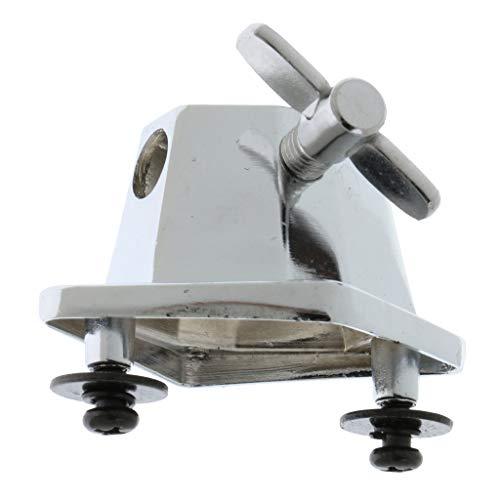 Baosity Chrome Floor Tom Leg Bracket for Tom Drum Parts Accessories