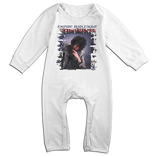 Price comparison product image PCY Newborn Babys Boy's & Girl's Bob Dylan Poster Long Sleeve Bodysuit Baby Onesie For 6-24 Months White Size 18 Months