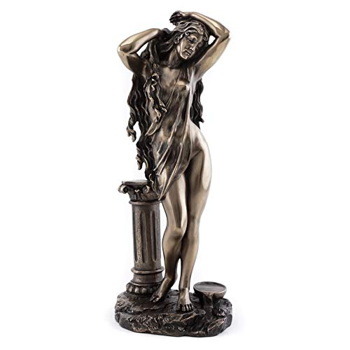 Top Collection Aphrodite Goddess Statue - Greek Roman Venus Mythology Sculpture- The Goddess of Love Figurine in Cold Cast Bronze- 10.75-Inch Figurine]()