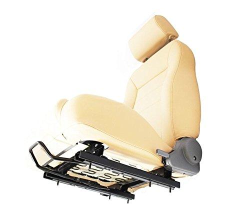 Front Replacement Seat Slider - Bestop 51248-01 Black Seat Slider Adapter for 2003-2006 Wrangler TJ, Passenger-Side