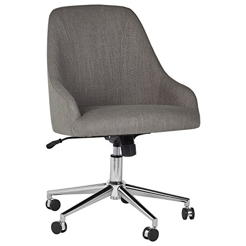 Rivet Contemporary Office Desk Chair, 33