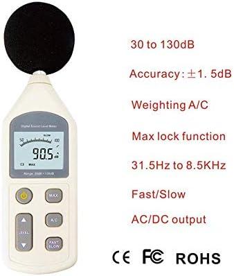 LilyAngel デジタルデジタル騒音計騒音計デシベル計環境騒音計 (サイズ : 70*35*256mm)