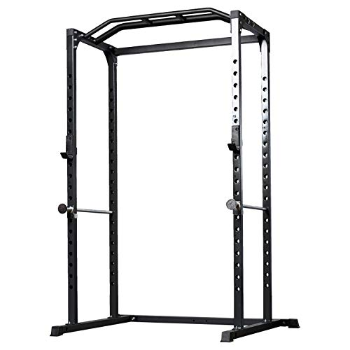 Rep PR-1100 Power Rack - 1,000 lbs Rated Lifting Cage for Weight Training (Metallic Black Power Rack, No Bench) by Rep Fitness (Image #7)