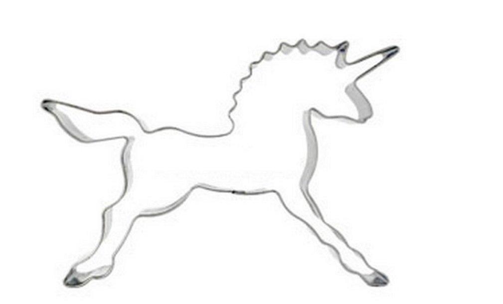 linyena cher moisissures de gâteau de Biscuit de figure du cheval licorne réveillée de l'acier inoxydable