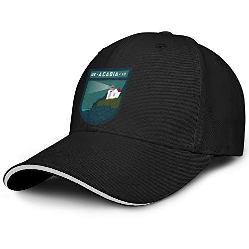 Acadia National Park Baseball Hat Hipster Cotton Adjustable Sports Caps ()