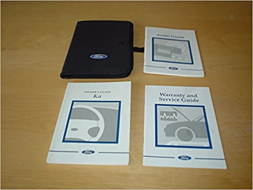 Ford Ka Owners Manual Handbook C W Wallet    Litre Endura E Owners Hand Book Manual Amazon Co Uk Ford Books