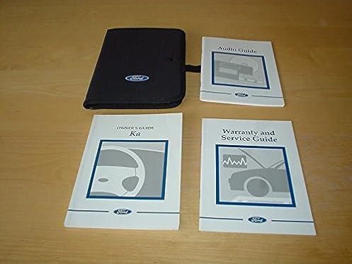 ford ka owners manual handbook c w wallet 1996 2008 fordka 1 3 rh amazon co uk Old Ford Ka Ford Ka Convertible