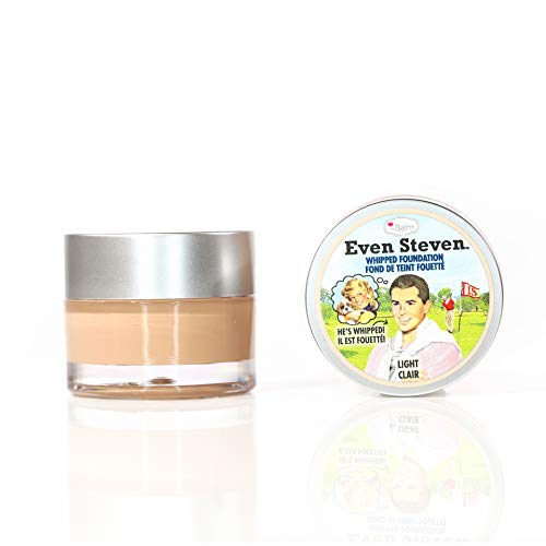 theBalm Even Steven Whipped Foundation, Light