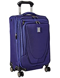 """Travelpro Crew 11 21"""" Expandable Spinner Carry On Luggage, Indigo"""