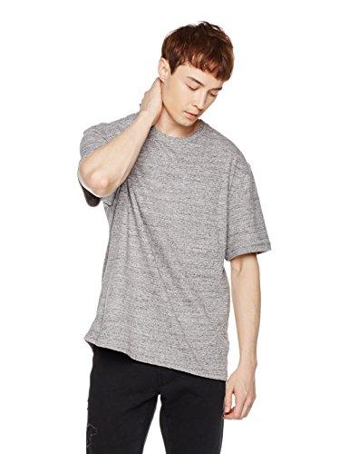 Something for Everyone Men's Short Sleeve Crewneck Pocket T-Shirt L Gray